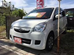 沖縄の中古車 ダイハツ ミラ 車両価格 38万円 リ済込 平成25年 7.2万K ホワイト