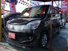 沖縄の中古車 三菱 デリカD:2 車両価格 77万円 リ済込 平成25年 7.4万K ブルーイッシュブラックパール