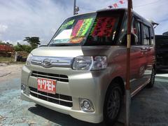 沖縄の中古車 ダイハツ タント 車両価格 68万円 リ済込 平成24年 9.3万K ゴールド