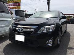 沖縄の中古車 トヨタ カムリ 車両価格 138万円 リ済込 平成24年 8.0万K アティチュードブラックマイカ