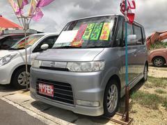 タントカスタムX 軽自動車 インパネ4AT 保証付 エアコン