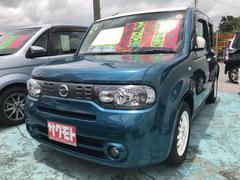 沖縄の中古車 日産 キューブ 車両価格 88万円 リ済込 平成28年 7.0万K ブルーII
