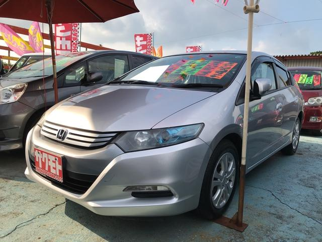 沖縄の中古車 ホンダ インサイト 車両価格 48万円 リ済込 平成21年 9.1万km アラバスターシルバーメタリック