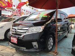 沖縄の中古車 日産 セレナ 車両価格 108万円 リ済込 平成23年 8.7万K ブラック
