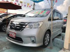 沖縄の中古車 日産 セレナ 車両価格 128万円 リ済込 平成25年 8.7万K ブリリアントシルバーM
