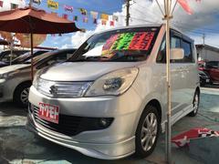 沖縄の中古車 スズキ ソリオ 車両価格 58万円 リ済込 平成24年 9.5万K シルキーシルバーメタリック