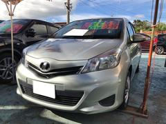 沖縄の中古車 トヨタ ヴィッツ 車両価格 68万円 リ済込 平成24年 4.8万K ジンバックメタリック