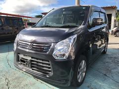 沖縄の中古車 スズキ ワゴンR 車両価格 58万円 リ済込 平成25年 9.0万K ダークグレー