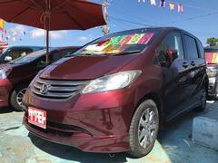 沖縄の中古車 ホンダ フリード 車両価格 68万円 リ済込 平成22年 5.7万K バスクレッドパール