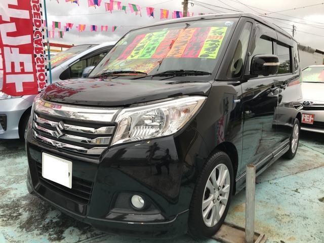 沖縄の中古車 スズキ ソリオ 車両価格 118万円 リ済込 平成27年 8.5万km ブルーイッシュブラックパール3