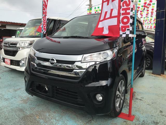 沖縄の中古車 日産 デイズ 車両価格 68万円 リ済込 2014(平成26)年 9.0万km ブラックP