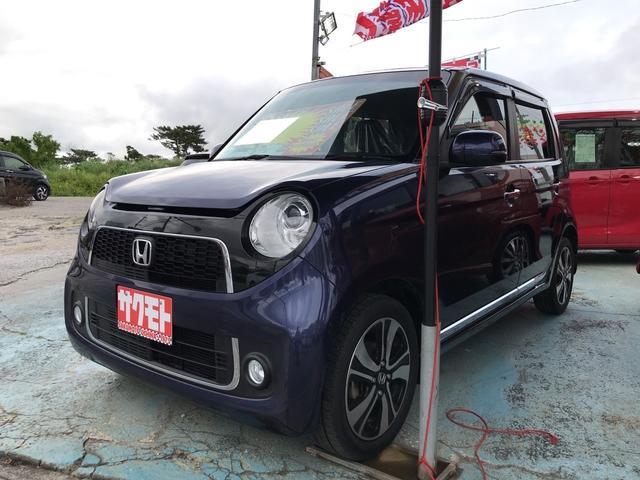 沖縄の中古車 ホンダ N-ONE 車両価格 68万円 リ済込 2013(平成25)年 8.3万km 紺M