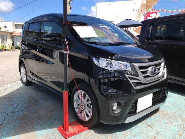 沖縄の中古車 日産 デイズ 車両価格 88万円 リ済込 2015(平成27)年 2.1万km ブラック