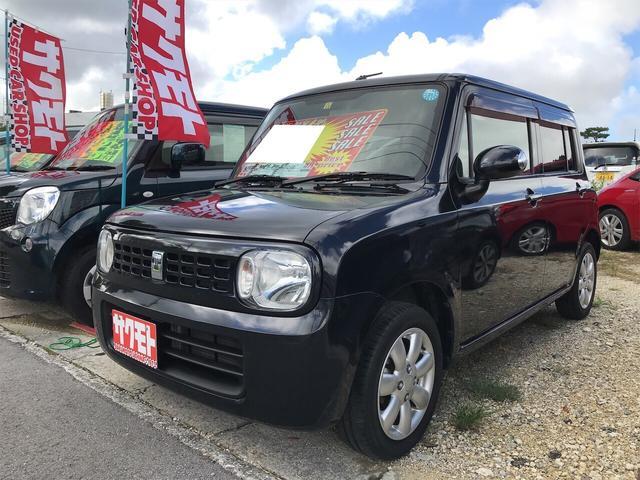 沖縄県の中古車ならアルトラパン T ナビ 軽自動車 ブルーイッシュブラックパール3 整備付