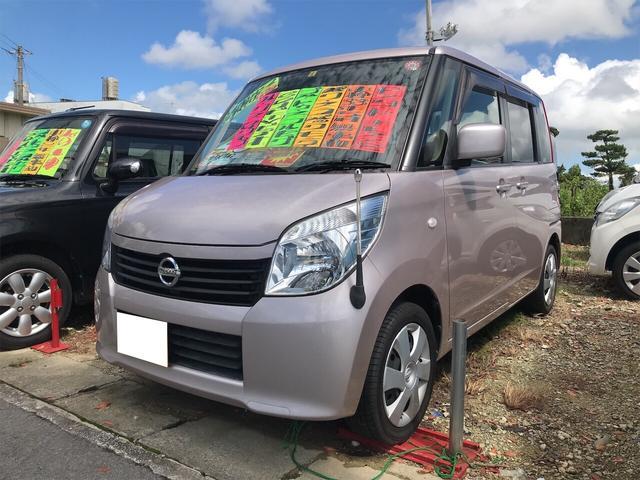 沖縄の中古車 日産 ルークス 車両価格 44万円 リ済込 2012(平成24)年 11.4万km ブルームピンクM