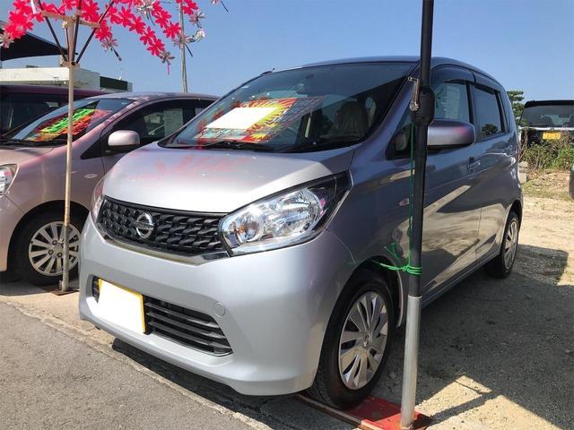 沖縄の中古車 日産 デイズ 車両価格 47万円 リ済込 2013(平成25)年 6.6万km シルバー