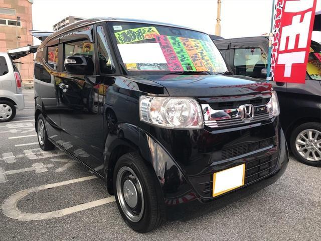 沖縄県の中古車ならN-BOXスラッシュ X シティブレーキ クルコン リアカメラ スマートキー