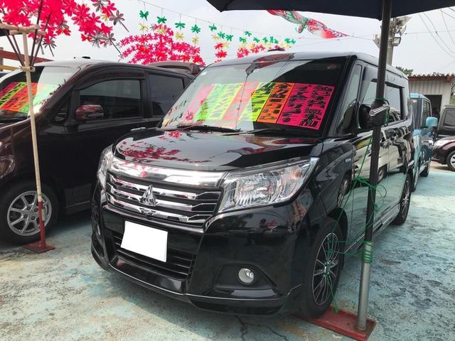 沖縄県の中古車ならデリカD:2 ハイブリッドMZ 衝突軽減システム 全方位カメラ 両側パワースライド ナビ フルセグTV Bluetooth