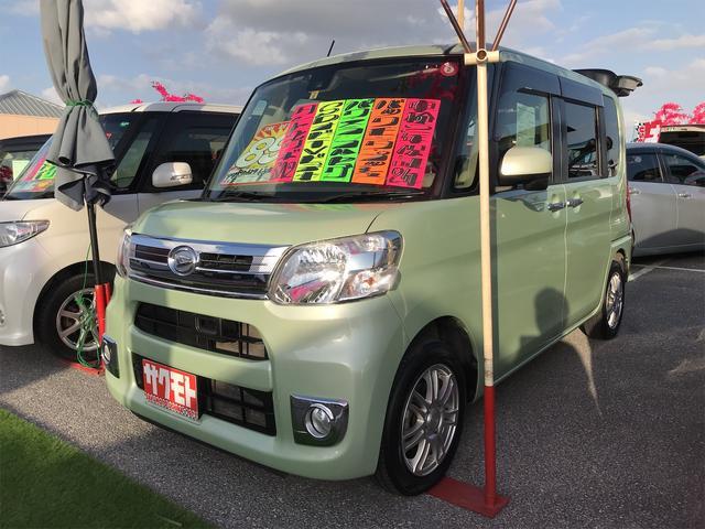 沖縄の中古車 ダイハツ タント 車両価格 78万円 リ済込 2015(平成27)年 7.2万km LグリーンM