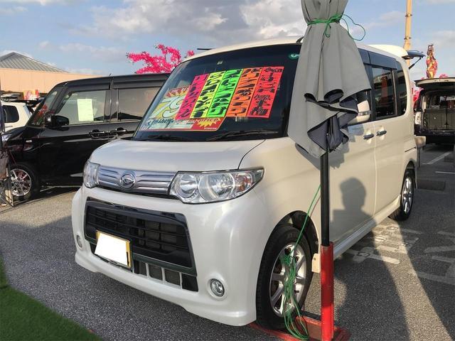 沖縄の中古車 ダイハツ タント 車両価格 68万円 リ済込 2013(平成25)年 9.6万km パールホワイトIII