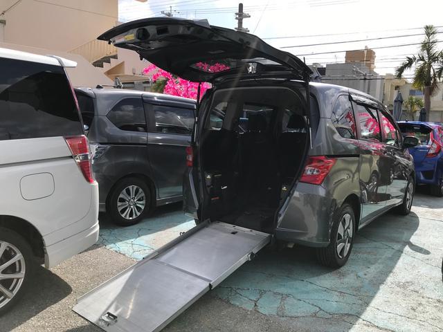 ホンダ X 福祉車 車椅子スロープ 車椅子固定装置 左パワースライド ナビ バックカメラ 5名乗り