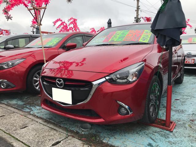 沖縄県の中古車ならデミオ XDツーリング スマートキー プッシュスタート クリーンディーゼル 純正ナビ フルセグTV バックカメラ DVDビデオ Bluetooth 6AT 2年保証