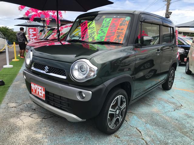 沖縄県の中古車ならハスラー Xターボ スマートキー プッシュスタート シートヒーター 衝突軽減システム アイドリングストップ 横滑り防止 Bluetooth DVDビデオ USB