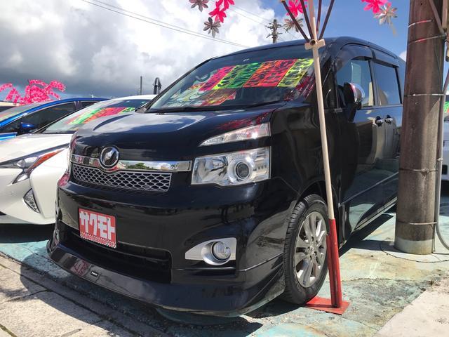 沖縄の中古車 トヨタ ヴォクシー 車両価格 108万円 リ済込 2012(平成24)年 8.3万km ブラック