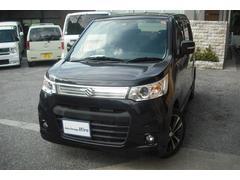 沖縄の中古車 スズキ ワゴンRスティングレー 車両価格 74万円 リ済別 平成25年 6.4万K ブラックM