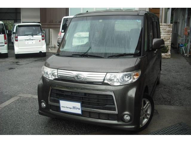 沖縄県の中古車ならタント カスタムRSターボ SDナビTV