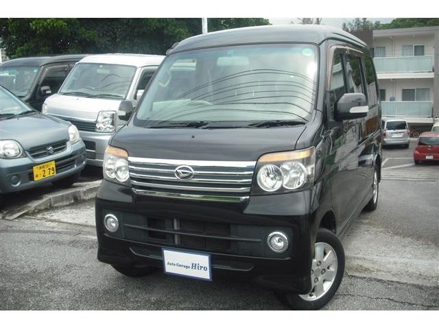 沖縄の中古車 ダイハツ アトレーワゴン 車両価格 58万円 リ済別 平成20年 9.4万km ブラックM