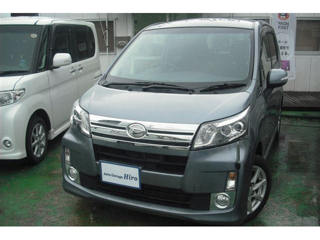 沖縄の中古車 ダイハツ ムーヴ 車両価格 59万円 リ済別 2013(平成25)年 7.9万km グレーM