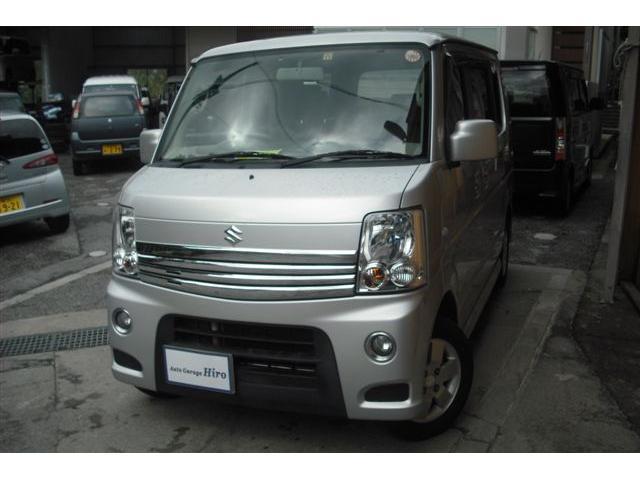沖縄の中古車 スズキ エブリイワゴン 車両価格 69万円 リ済別 2010(平成22)年 8.6万km シルバーM