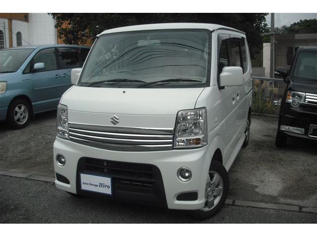 沖縄の中古車 スズキ エブリイワゴン 車両価格 69万円 リ済別 平成24年 10.0万km パールホワイト