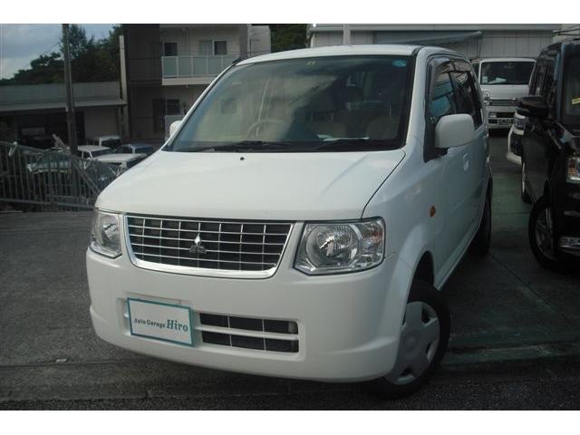 沖縄の中古車 三菱 eKワゴン 車両価格 26万円 リ済別 2012(平成24)年 9.3万km ホワイト