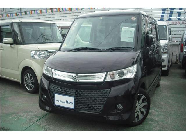 沖縄の中古車 スズキ パレットSW 車両価格 59万円 リ済別 2012(平成24)年 7.9万km パープルM