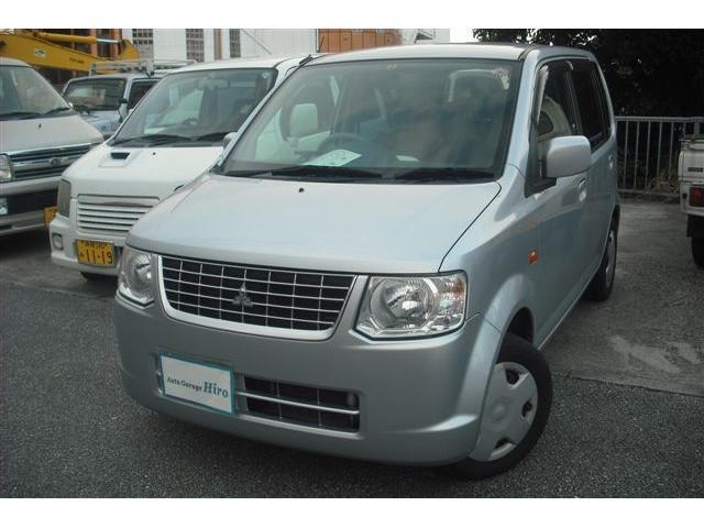 沖縄の中古車 三菱 eKワゴン 車両価格 34万円 リ済別 2012(平成24)年 6.5万km シルバーM