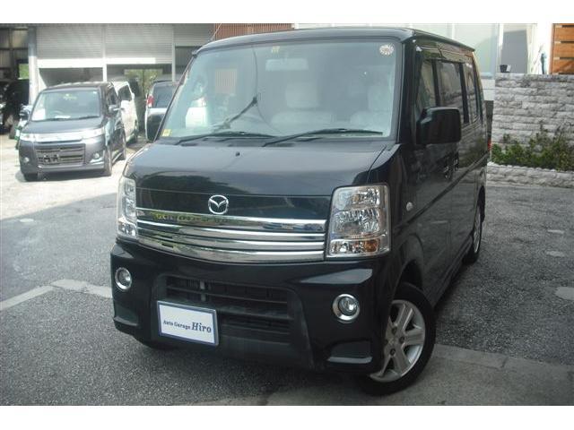 沖縄の中古車 マツダ スクラムワゴン 車両価格 63万円 リ済別 2010(平成22)年 10.8万km ブラックM