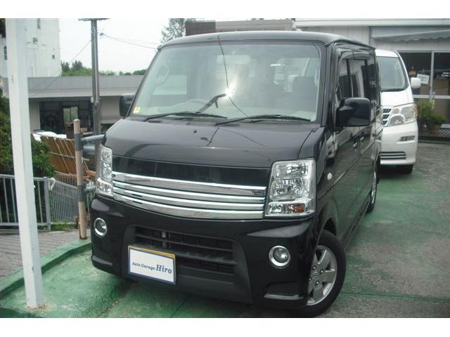 沖縄の中古車 スズキ エブリイワゴン 車両価格 59万円 リ済別 2012(平成24)年 10.7万km ブラックM