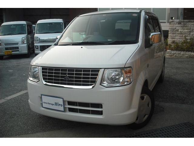 沖縄の中古車 三菱 eKワゴン 車両価格 32万円 リ済別 2013(平成25)年 8.1万km パールホワイト