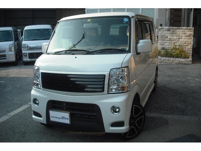 沖縄県うるま市の中古車ならエブリイワゴン PZターボスペシャル SDナビTV