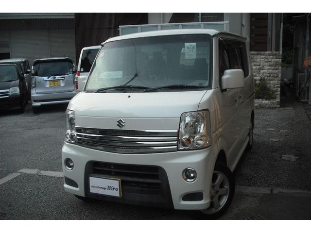 沖縄県の中古車ならエブリイワゴン PZターボ HDDナビTV