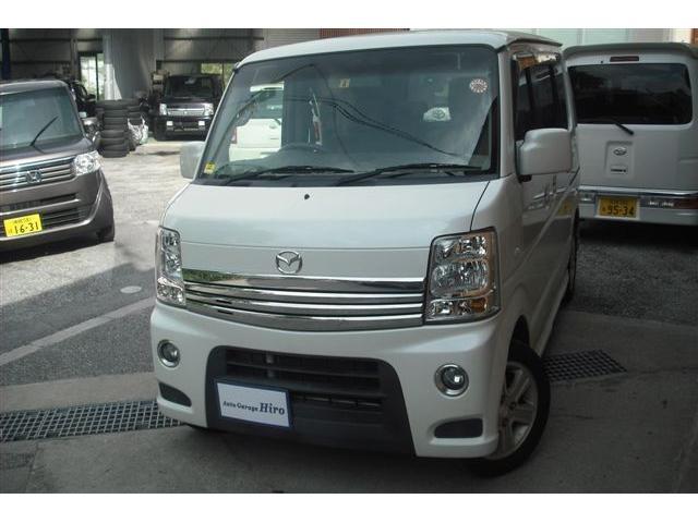 沖縄の中古車 マツダ スクラムワゴン 車両価格 71万円 リ済別 2011(平成23)年 10.0万km パールホワイト