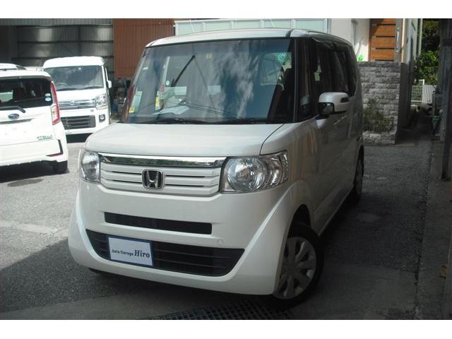 沖縄の中古車 ホンダ N-BOX 車両価格 69万円 リ済別 2014(平成26)年 8.3万km パールホワイト