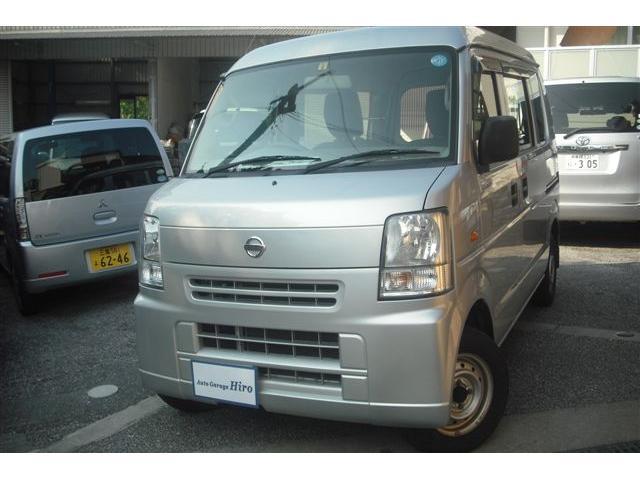 沖縄の中古車 日産 NV100クリッパーバン 車両価格 47万円 リ済別 2014(平成26)年 8.6万km シルバーM