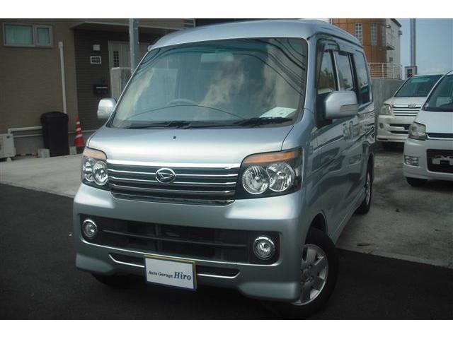 沖縄の中古車 ダイハツ アトレーワゴン 車両価格 63万円 リ済別 2012(平成24)年 9.0万km シルバーM