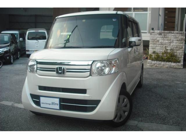 沖縄の中古車 ホンダ N-BOX 車両価格 77万円 リ済別 2016(平成28)年 8.5万km パールホワイト