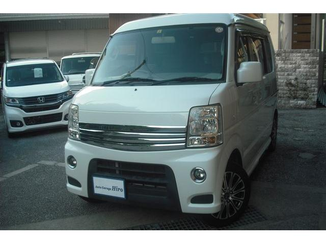 沖縄の中古車 スズキ エブリイワゴン 車両価格 76万円 リ済別 2012(平成24)年 9.8万km パールホワイト