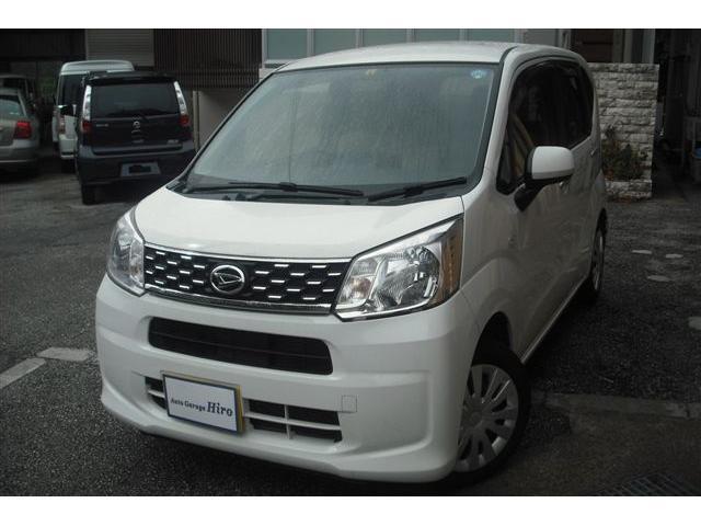 沖縄の中古車 ダイハツ ムーヴ 車両価格 53万円 リ済別 2016(平成28)年 9.3万km ホワイト