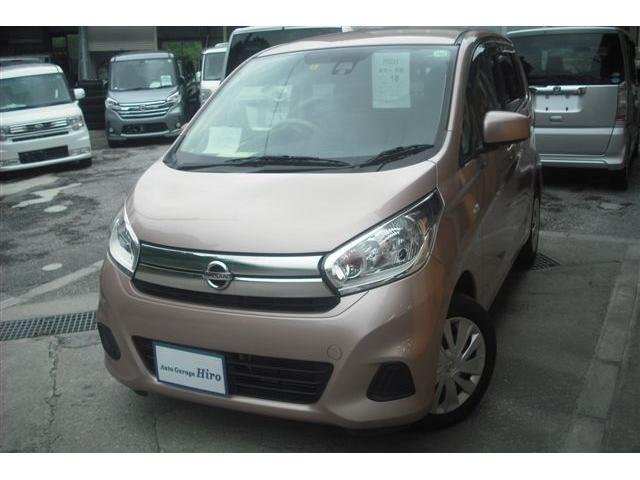 沖縄の中古車 日産 デイズ 車両価格 54万円 リ済別 2016(平成28)年 7.8万km ピンクM